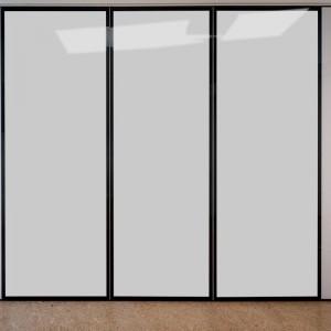 スマートガラス-黒色アルミニウム合金